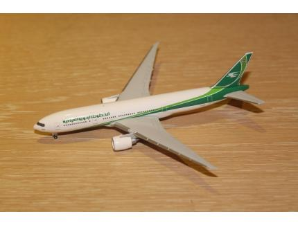 BOEING 777-200LR IRAQI AIRWAYS HERPA 1/500°