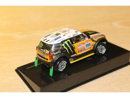 MINI ALL 4 RACING 2nd DAKAR 2012 IXO 1/43°