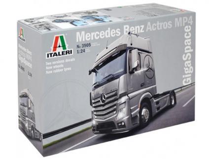 MERCEDES ACTROS MP4 ITALERI 1/24°
