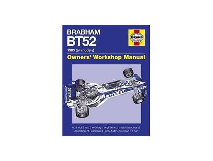 BRABHAM BT52 1983 OWNERS' WORKSHOP MANUAL