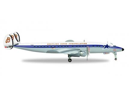 LOCKHEED SUPER CONSTELLATION BREITLING HERPA 1/200°