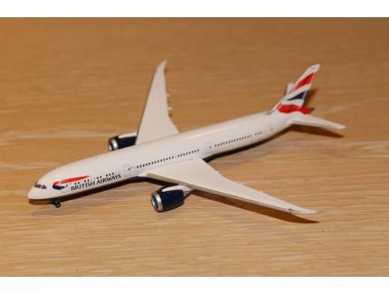 BOEING 787-9 DREAMLINER BRITISH  AIR HERPA 1/500°