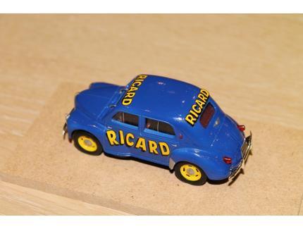 RENAULT 4CV RICARD 1952 LABEL 43 1/43°