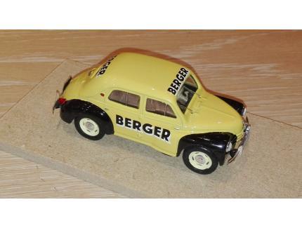 RENAULT 4CV BERGER 1956 LABEL43