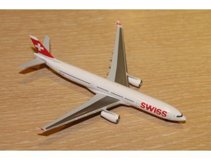 AIRBUS A330-300 SWISS 2015 HERPA 1/500°