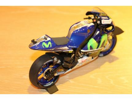 YAMAHA YZR-M1 ROSS WIN GP CATALUNYA 2016 MINICHAMPS 1/12°