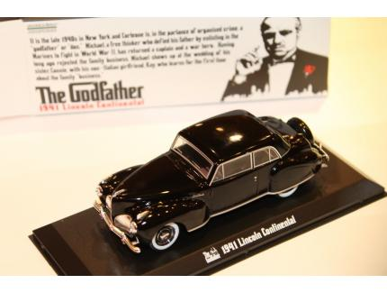 """LINCOLN CONTINENTAL 1941 """"THE GODFATHER"""" GREENLIGHT 1/43°"""