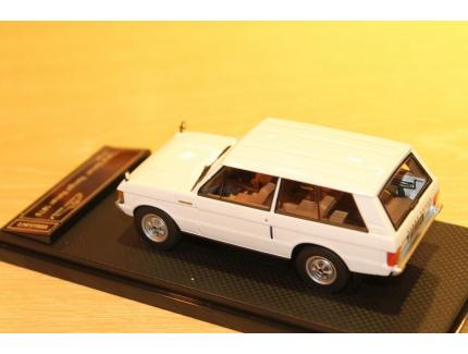 """RANGE ROVER """"CLASSIC"""" 1970 BLANC ALMOST REAL 1/43°"""