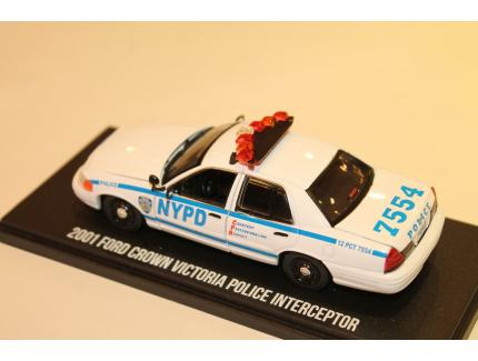 FORD CROWN VICTORIA POLICE INTERCEPTOR  GREENLIGHT 1/43°