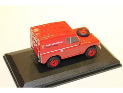 LAND ROVER SERIES IIA ROYAL MAIL OXFORD 1/43°