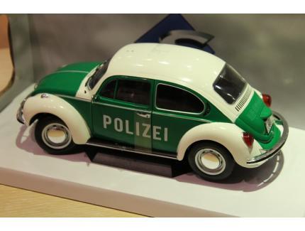 VW COX BEETLE POLIZEI SOLIDO 1/18°