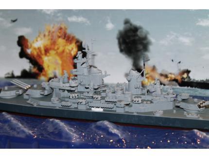 USS MISSOURI (BB-63) 1944 FORCES OF VALOR 1/700°