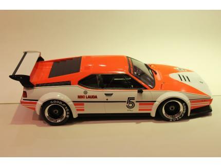 BMW M1 PROCAR LAUDA 1979 MINICHAMPS 1/12°