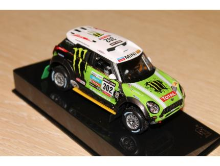 MINI ALL 4 N°302 WIN DAKAR 2013 IXO 1/43°