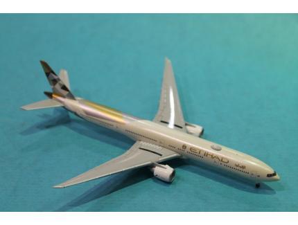 BOEING 777-300ER ETIHAD HERPA 1/500°