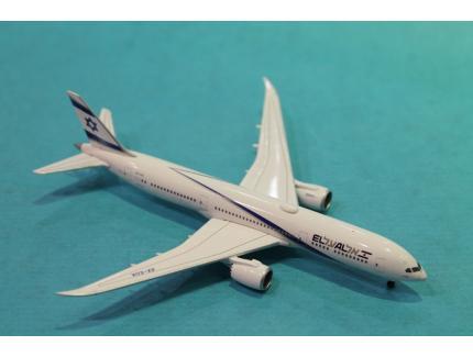 BOEING 787-9 DREAMLINER EL AL HERPA 1/500°