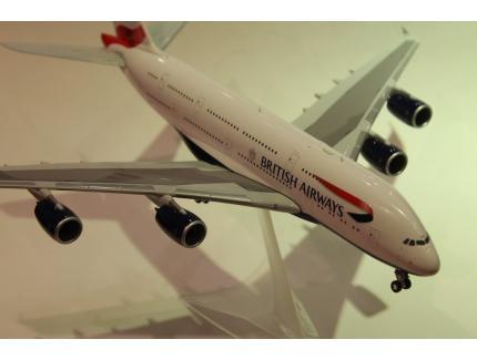 AIRBUS A380 BRITISH AIRWAYS  2017 HERPA 1/200°