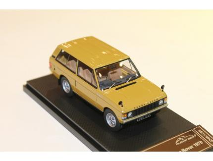 """RANGE ROVER """"CLASSIC"""" 1970 GOLD ALMOST REAL 1/43°"""