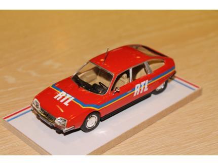 CITROEN CX RTL TDF 1980 LABEL 43 1/43°