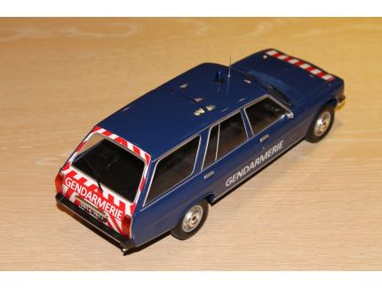PEUGEOT 504 BREAK GENDARMERIE 1976 MCG 1/18°