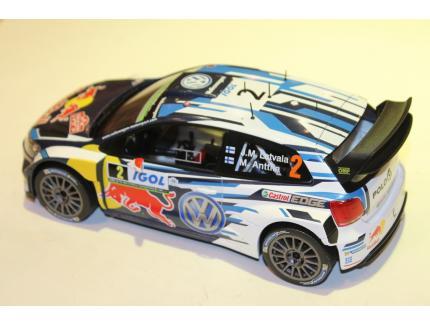 VW POLO WRC TDC N°2 IXO 1/18°