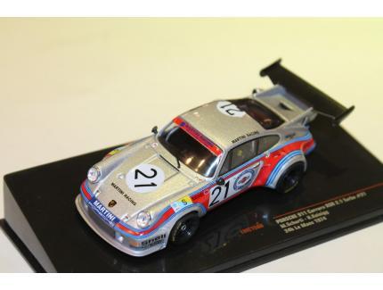 PORSCHE 911 RSR TURBO 2.1L N°21 LM 1974 IXO 1/43°