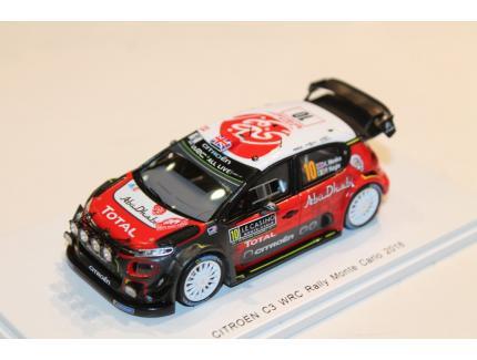 CITROEN C3 WRC MEEKE MC2018 SPARK 1/43°
