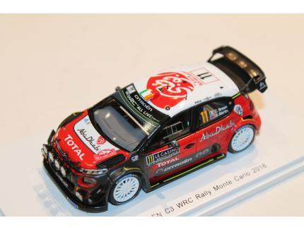 CITROEN C3 WRC BREEN MC2018 SPARK 1/43°