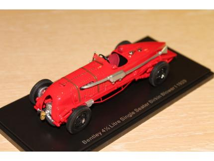 BENTLEY 4L 1/2 BLOWER MONOPLACE 1929 NEO 1/43°