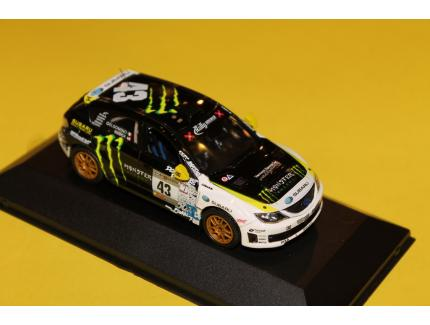 SUBARU IMPREZA N°43 WRX STI 2009 J COLLECTION 1/43°