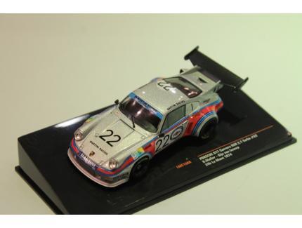 PORSCHE 911 RSR TURBO 2.1L N°22 LM 1974 IXO 1/43°