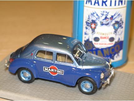 RENAULT 4CV MARTINI 1956 LABEL 43 1/43°