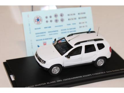 DACIA DUSTER GENDARMERIE CYNOPHILE / CRS ALARME 1/43
