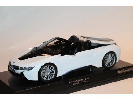 BMW I8 ROADSTER 2018 BLANCHE MINICHAMPS 1/43°