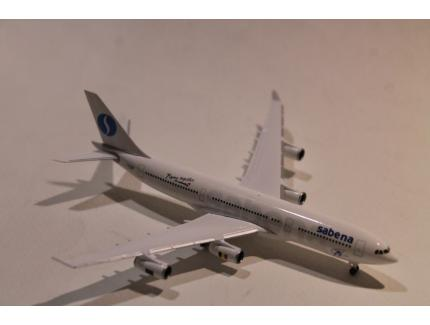 "AIRBUS A340-200 SABENA ""FLYING TOGETHER"" HERPA 1/200°"