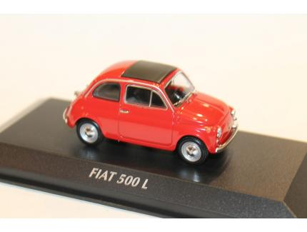 FIAT 500L ROUGE 1965 MAXICHAMPS 1/43°