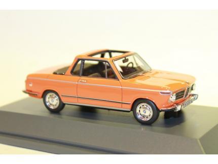 BMW 2002 CABRIOLET 2-2 (BAUR) ORANGE SCHUCO 2002