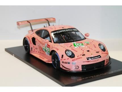 PORSCHE 911 WIN LM GTE PRO 2018 SPARK 1/12°