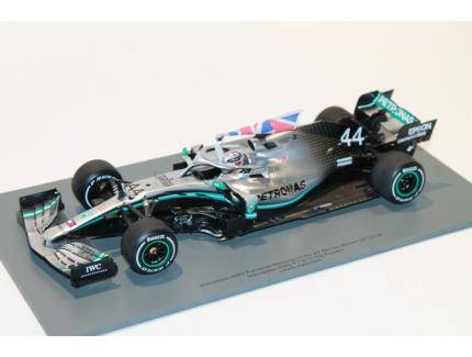 MERCEDES AMG W10 WIN BRITISH GP 2019 SPARK 1/18°