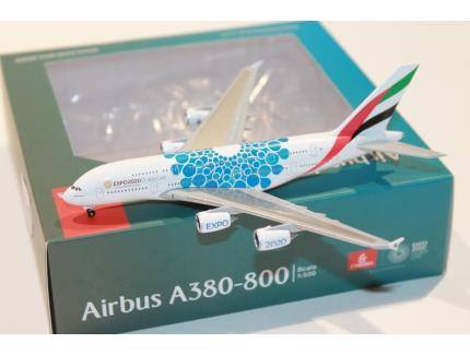 "AIRBUS A380-800 ""EXPO 2020 DUBAI"" HERPA 1/500°"