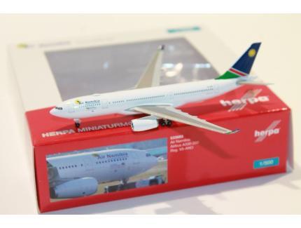AIRBUS A330-200 AIR NAMIBIA 2020 HERPA 1/500°