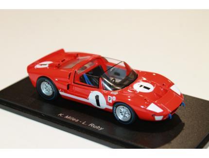 FORD GT-X1 N°1 WINNER 12H SEBRING 1966 SPARK 1/43°