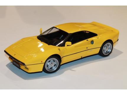 FERRARI 288 GTO 1984 JAUNE KK SCALE 1/18