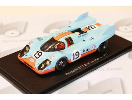 PORSCHE 917K N°19 2ND 24H LM 1971 SPARK 1/43°