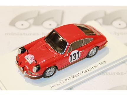 PORSCHE 911 N°131 MONTE CARLO 1966 SPARK 1/43°
