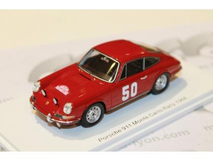 PORSCHE 911 N°50 MONTE CARLO 1966 SPARK 1/43°