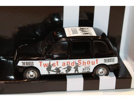 LONDON TAXI THE BEATLES TWIST AND SHOUT CORGI 1/36°