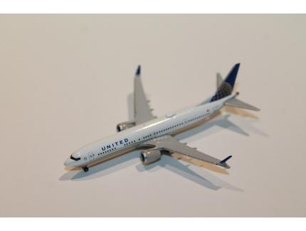 BOEING 737 MAX 9 UNITED AIRLINES HERPA 1/500