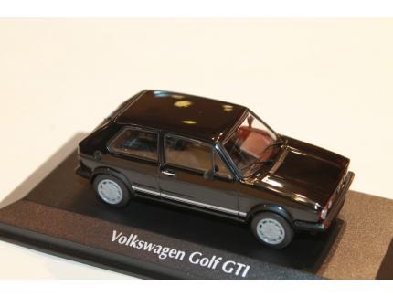 VW GOLF GTI 1983 NOIR MAXICHAMPS 1/43°