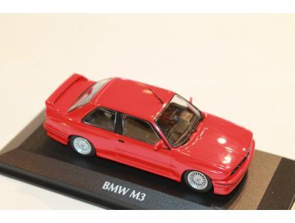 BMW M3 E30 1987 ROUGE MAXICHAMPS 1/43°